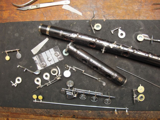 making flutes